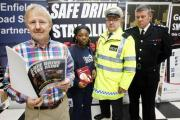 Pupils receive harrowing message on safe driving