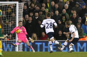 Kane at the double as Spurs go third