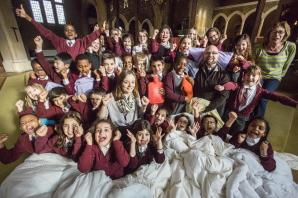 "Reverend praises ""amazing"" schoolchildren for volunteering work"