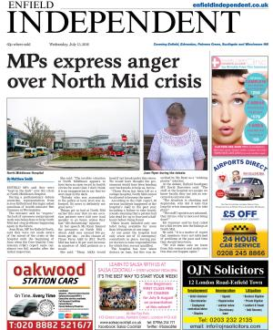 Enfield Independent: Read the e-newspaper version of the Enfield Independent and access our archive
